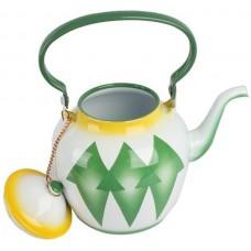 أباريق الشاي من خليط معدني ، اخضر - مقاس 2 لتر